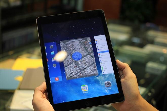 Không sủ dụng 5 hành động làm iPad Air bị hỏng pin